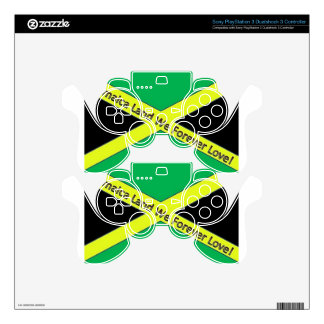 Jamaican This and Jamaican That! PS3 Controller Decals