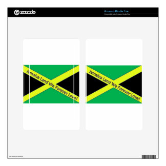 Jamaican This and Jamaican That! Skin For Kindle Fire