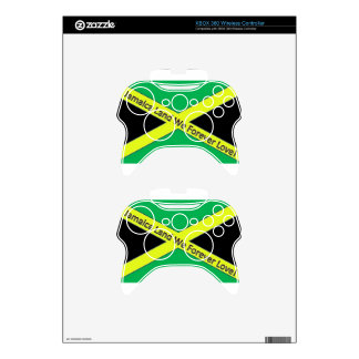 Jamaican This and Jamaican That! Xbox 360 Controller Skin