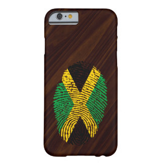 Jamaican touch fingerprint flag barely there iPhone 6 case