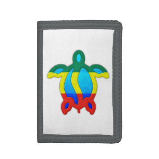Jamaican Turtle Trifold Wallet