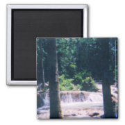 Jamaican Waterfall magnet