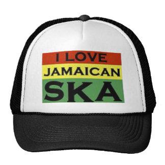 jamaican will cap trucker hat
