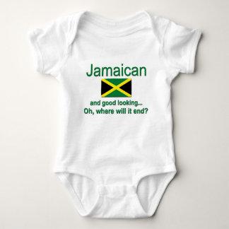 Jamaicano apuesto mameluco de bebé