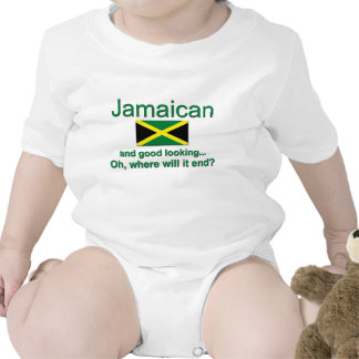 Jamaicano apuesto camiseta