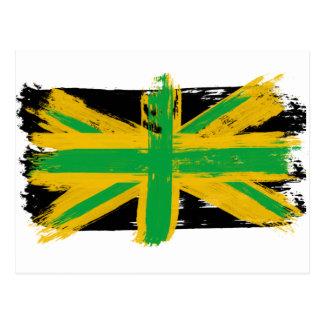 Jamaicano británico tarjeta postal