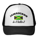 Jamaicano mejora gorras