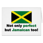 Jamaicano perfecto tarjetas