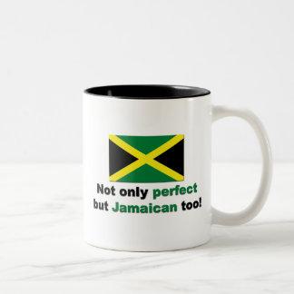 Jamaicano perfecto taza de dos tonos
