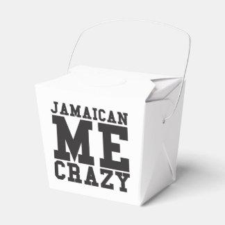 Jamaicano yo loco cajas para regalos de fiestas
