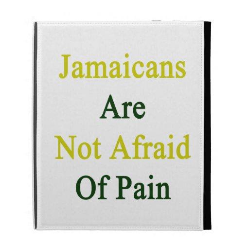 Jamaicans Are Not Afraid Of Pain iPad Folio Case