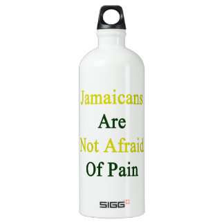 Jamaicans Are Not Afraid Of Pain SIGG Traveler 1.0L Water Bottle