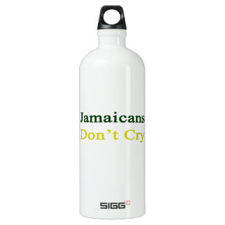 Jamaicans Don't Cry SIGG Traveler 1.0L Water Bottle