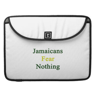 Jamaicans Fear Nothing Sleeves For MacBook Pro