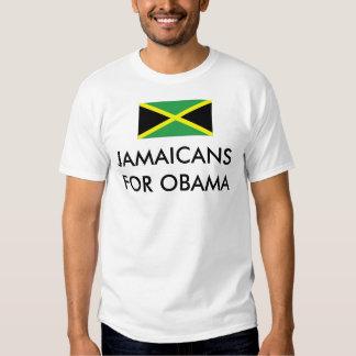 JAMAICANS/JAMAICANO PARA BARACK OBAMA PLAYERAS