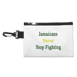Jamaicans Never Stop Fighting Accessories Bags