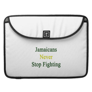 Jamaicans Never Stop Fighting Sleeve For MacBooks