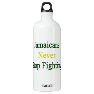 Jamaicans Never Stop Fighting SIGG Traveler 1.0L Water Bottle
