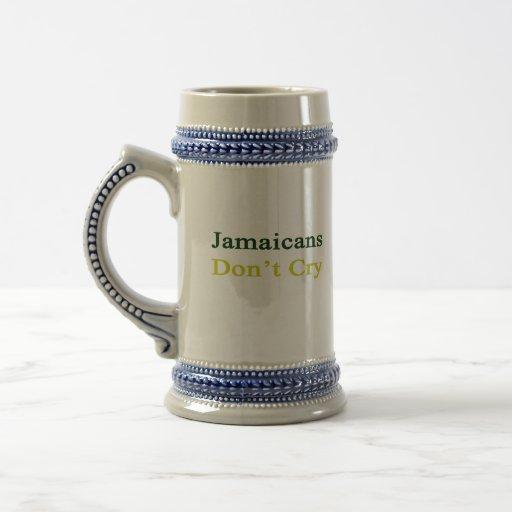 Jamaicans no llora taza