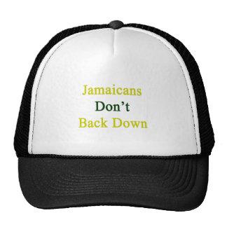 Jamaicans no retrocede gorra