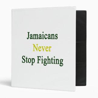 Jamaicans nunca para el luchar