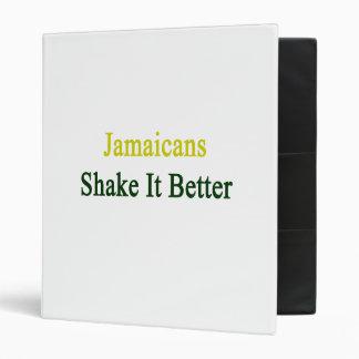 Jamaicans Shake It Better Binder