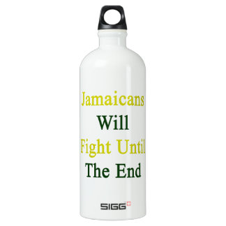 Jamaicans Will Fight Until The End SIGG Traveler 1.0L Water Bottle