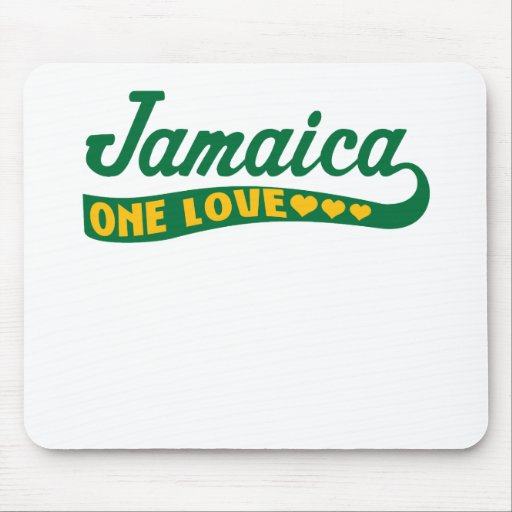 jamaicaonelove mouse mat
