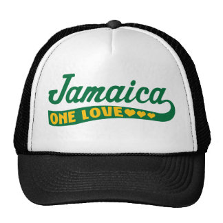 jamaicaonelove trucker hat