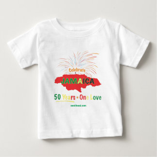Jamaica's 50th Anniversary by Roxanne/Swellhead Baby T-Shirt