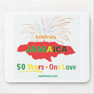 Jamaica's 50th Anniversary by Roxanne/Swellhead Mouse Pad