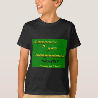 Jamaica's  55th Independence (Green) T-Shirt
