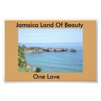 Jamaica's East Coast Photo Print