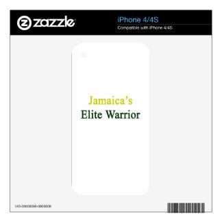 Jamaica's Elite Warrior Skin For iPhone 4
