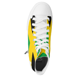 Jamaican flag womens printed shoes zazzle jamaicas map flag hightops decriminalizebyray high top sneakers voltagebd Gallery