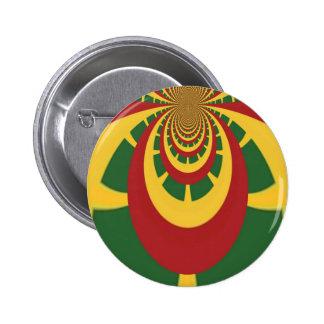 Jamaicas RETROS FRESCOS Rastas del vintage de Haku Pin