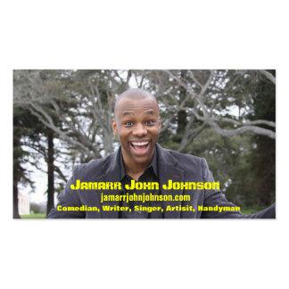 Jamarr John Johnson Business Card
