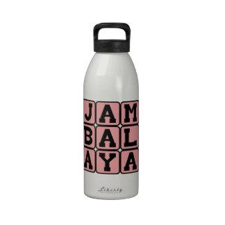 Jambalaya, acompañamiento de Cajun Botella De Agua