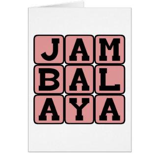 Jambalaya, Cajun Side Dish Card