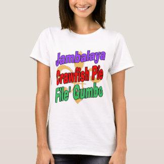 Jambalaya Crawfish Pie T-Shirt