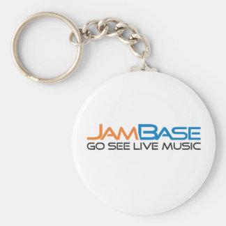 "Jambase ""Go See Live Music"" Keychain"