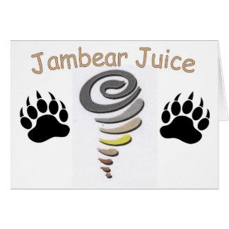 Jambear Juice Card