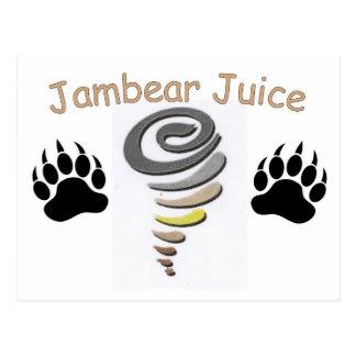 Jambear Juice Postcard
