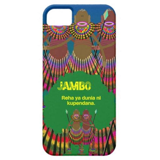 jambo 02 iPhone SE/5/5s case