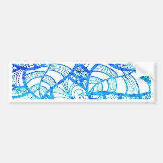 Jambo, blue bumper stickers