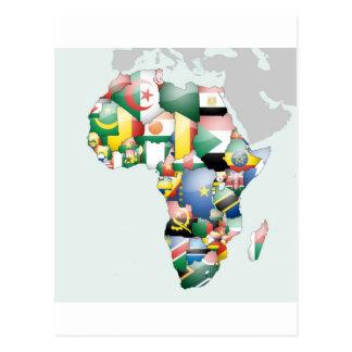 Jambo Habari Africa Beautiful Hello Mama Africa Postcard