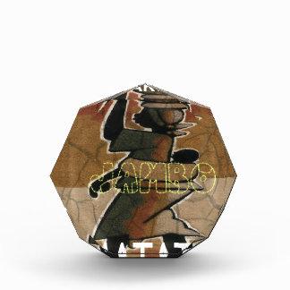 Jambo Habari Hakuna Matata. Acrylic Award