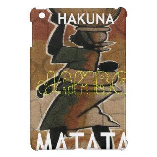 Jambo Habari Hakuna Matata. iPad Mini Cover