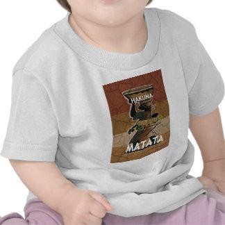 Jambo Habari Hakuna Matata. Camisetas