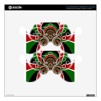 Jambo Habari ! Kenya Hakuna Matata PS3 Controller Skins